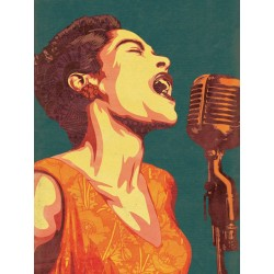 Billie Holiday - Ilustración